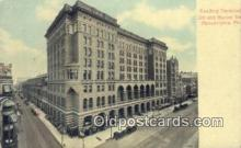 dep002058 - Reading Terminal, Philadelphia, PA, Pennsylvania, USA Depot Postcard, Railroad Post Card