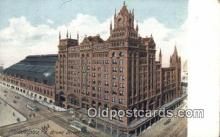 dep002062 - Broad Street Station, Philadelphia, PA, Pennsylvania, USA Depot Postcard, Railroad Post Card
