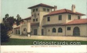 dep002079 - Santa Fe Depot, Stockton, CA, California, USA Depot Postcard, Railroad Post Card