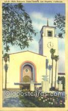 dep002095 - Union Station, Los Angeles, CA, California, USA Depot Postcard, Railroad Post Card