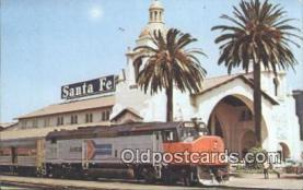 dep002115 - Amtrak 509, San Diego, CA, California, USA Depot Postcard, Railroad Post Card