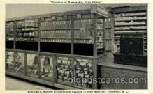 dgs001014 - Eckerd's Modern Prescription Counter, Columbia, S.C., South Carolina, USA Drug Store, Stores, Postcard Post Card