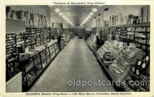 dgs001023 - Eckerd's Modern Drug Store, Columbia, S.C., South Carolina, USA Drug Store, Stores, Postcard Post Card