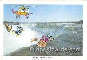 dis001104 - Horseshoe Falls, Niagara Falls Ontario, Canada Postcard Post Card