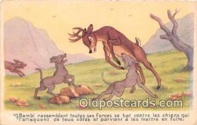 dis001105 - Bambi  Postcard Post Card