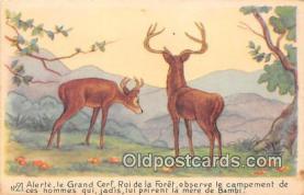 dis001106 - Bambi  Postcard Post Card