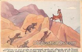 dis001107 - Bambi  Postcard Post Card