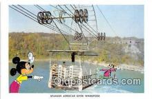 dis001110 - Spanish Aerocar Over Whirlpool Niagara Falls, Ont, Canada Postcard Post Card