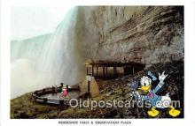 dis001112 - Horseshoe Falls & Observation Plaza Niagara Falls, Ont, Canada Postcard Post Card