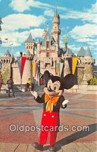 dis001117 - Mickey Mouse Disneyland, Anaheim, CA, USA Postcard Post Card