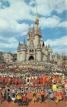 dis001119 - Cinderella Castle Walt Disney World, FL, USA Postcard Post Card