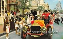 dis001121 - Riding Down Main Street, USA, Mickey Mouse Walt Disney World, FL, USA Postcard Post Card