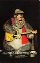 dis001122 - Country Bear Jamboree, Big Al Walt Disney World, FL, USA Postcard Post Card