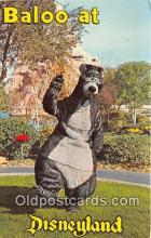 dis001130 - Baloo Disneyland, Anaheim, CA, USA Postcard Post Card