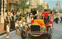 dis001137 - Riding Down Main Street, USA, Mickey Mouse Walt Disney World, FL, USA Postcard Post Card