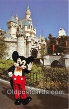 dis001140 - Mickey Mouse Fantasyland, Disneyland, Anaheim, CA, USA Postcard Post Card
