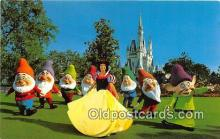 dis001147 - Snow White & the Seven Dwards Walt Disney World, FL, USA Postcard Post Card