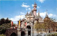 dis001153 - Sleeping Beauty Castle Magic Kingdom, Walt Disney World, FL, USA Postcard Post Card