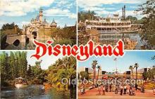 dis001158 - Sleeping Beatuy Cast, Mark Twain Disneyland, Anaheim, CA, USA Postcard Post Card