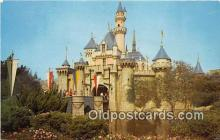 dis001161 - Sleeping Beauty Castle Fantasyland, Disneyland, Anaheim, CA, USA Postcard Post Card