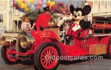 dis001166 - Chief Firemouse, Mickey Mouse Walt Disney World, FL. USA Postcard Post Card