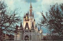 dis001168 - Cinderella Castle Fantasyland, Walt Disney World, FL, USA Postcard Post Card