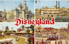dis001177 - Sleeping Beauty's Castle, Mark Twain Disneyland, Anaheim, CA, USA Postcard Post Card