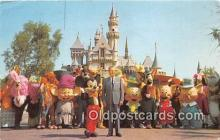 dis001182 - Sleeping Beauty's Castle Disneyland, Anaheim, CA, USA Postcard Post Card