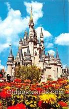 dis001192 - Cinderella Castle Walt Disney World, FL, USA Postcard Post Card