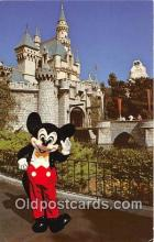 dis001194 - Fantasyland, Mickey Mouse Disneyland, Anaheim, CA, USA Postcard Post Card