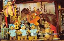 dis001197 - Country Bear Jamboree Walt Disney World, FL, USA Postcard Post Card