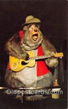 dis001198 - Country Bear Jamboree, Big Al Walt Disney World, FL, USA Postcard Post Card