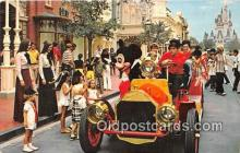 dis001208 - Riding Down Main Street, USA, Mickey Mouse Walt Disney World, FL, USA Postcard Post Card