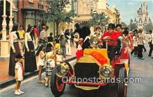 dis001209 - Riding Down Main Street, USA, Mickey Mouse Walt Disney World, FL, USA Postcard Post Card