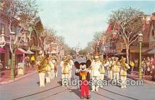 dis001214 - Mickey Mouse & Disneyland Band Disneyland, Anaheim, CA, USA Postcard Post Card