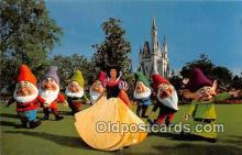 dis001217 - Snow White & the Seven Dwards Walt Disney World, FL, USA Postcard Post Card