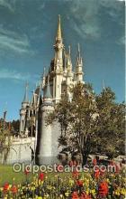 dis001218 - Cinderella Castle Walt Disney World, FL, USA Postcard Post Card