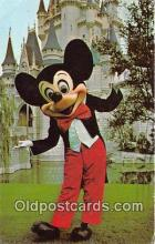 dis001220 - Magic Kingdom, Mickey Mouse Walt Disney World, FL, USA Postcard Post Card