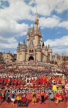 dis001228 - Cinderella Castle Walt Disney World, FL, USA Postcard Post Card