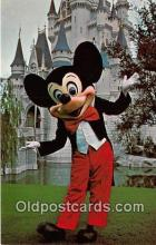 dis001240 - Magic Kingdom, Mickey Mouse Walt Disney World, FL, USA Postcard Post Card