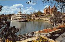 dis001242 - Cruising the Rivers, Admiral Joe Fowler Walt Disney World, FL, USA Postcard Post Card