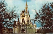 dis001248 - Cinderella Castle Walt Disney World, FL, USA Postcard Post Card