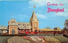 dis001249 - Floral Mickey Mouse Disneyland, Anaheim, CA, USA Postcard Post Card
