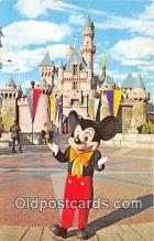 dis001250 - Mickey Mouse Disneyland, Anaheim, CA, USA Postcard Post Card