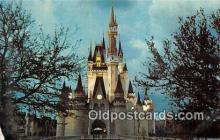 dis001251 - Cinderella Castle, Fantasyland Walt Disney World, FL, USA Postcard Post Card