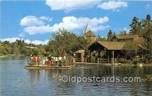 dis001254 - Heading for Adventure, Tom Sawyer Walt Disney World, FL, USA Postcard Post Card