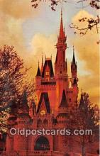 dis001256 - Cinderella Castle, Fantasyland Walt Disney World, FL, USA Postcard Post Card