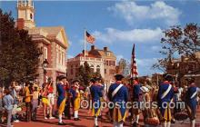 dis001270 - Liberty Square Fife & Drum Corps Walt Disney World, FL, USA Postcard Post Card