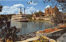 dis001271 - Cruising the Rivers, Admiral Joe Fowler Walt Disney World, FL, USA Postcard Post Card