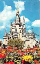 dis001278 - Cinderella Castle Walt Disney World, FL, USA Postcard Post Card